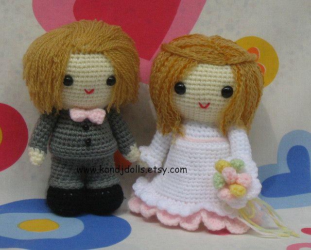 Amigurumi Simple Patterns : 99 mejores ideas sobre Crochet Wedding en Pinterest La ...