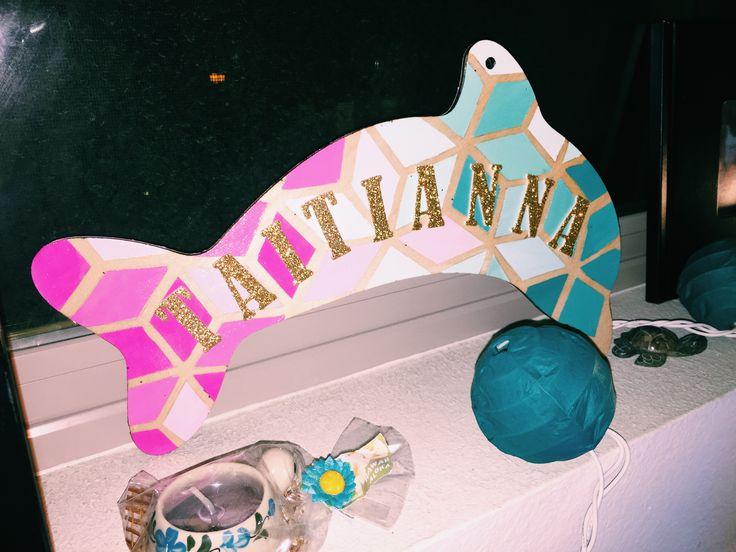 Sorority Dolphin Paddle Tri Delta