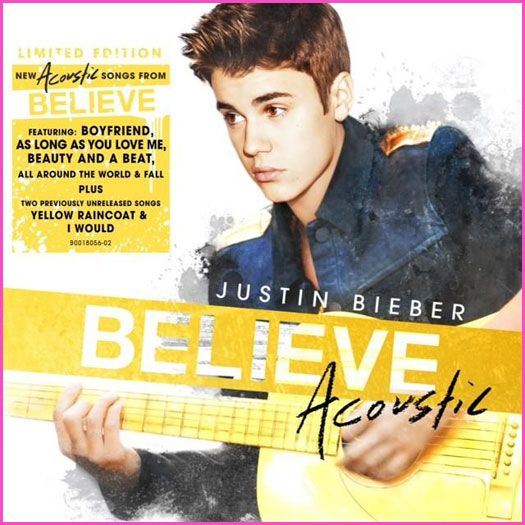 One of the songs on Justin's Believe Acoustic Album is about one of his break ups!