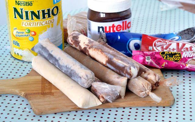Essa é uma sobremesa que crianças e adultos amam. Pelo Brasil é também chamado de geladinho, chup-chup, laranjinha... a lista é de nome ...