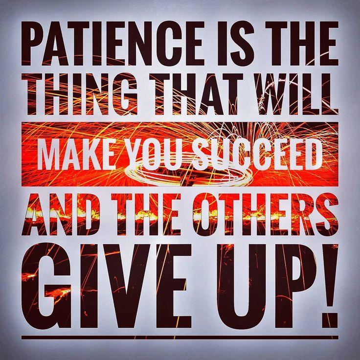 #motivation #motivated #succeed #success #patience #followforfollow #follow4follow #followback #followme