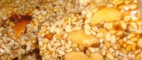 Η ΑΠΟΚΑΛΥΨΗ ΤΟΥ ΕΝΑΤΟΥ ΚΥΜΑΤΟΣ: Παστέλι με ξηρούς καρπούς