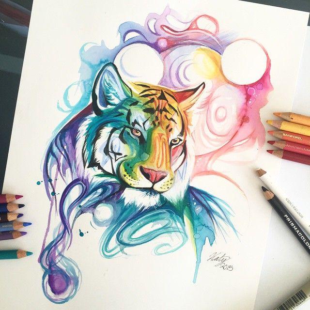 Tiger Spirit by Katy Lipscomb