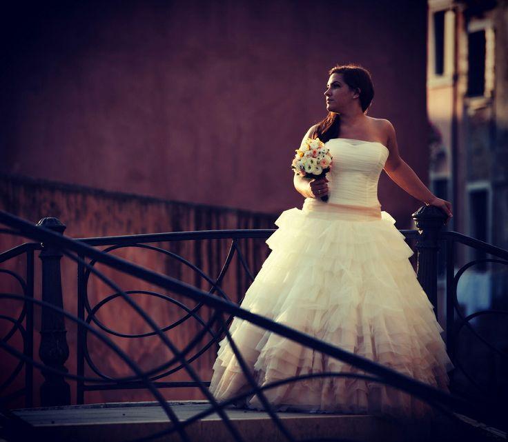 Wedding venice venezia vintage girl Sun