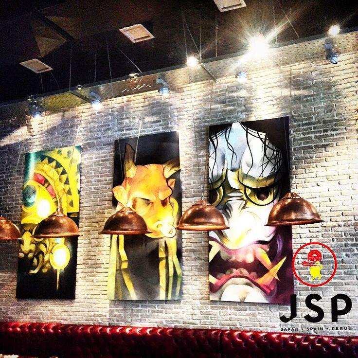 Cinco Presents JSP***** Hannya Mask-Taurus Mask-Inkas Mask Let's rock \m/