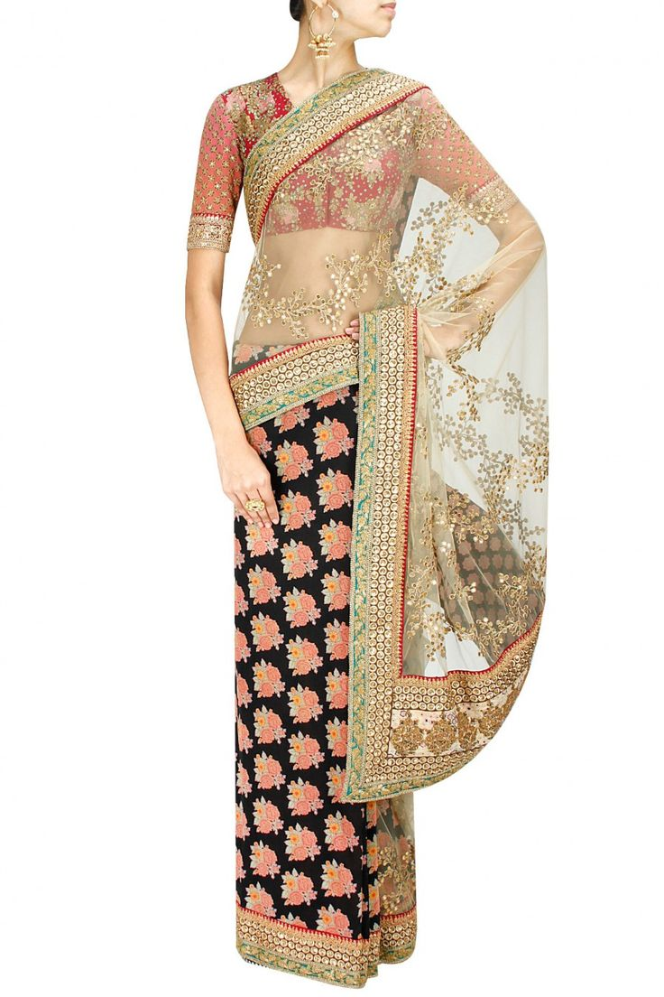 How gorgeous is that pallu! / Sabyasachi
