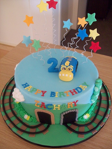 Best Chuggington Birthday Images On Pinterest Birthday Party - Chuggington birthday cake