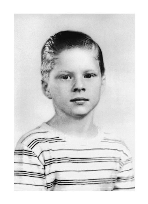 Robert Redford at the age of 10 in 1946.