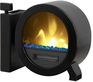 Muskoka Personal Desktop Electric Fireplace - Gloss Black | Meijer ...