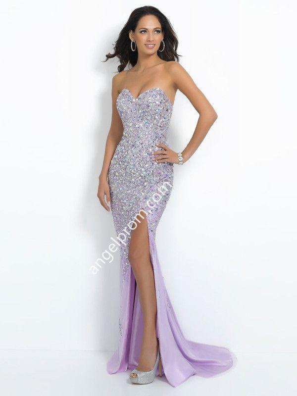 2015 Style Trumpet/Mermaid Sweetheart Sweep/Brush Train Chiffon Prom Dresses/Evening Dresses