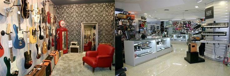 Resultado de imagen de tiendas de instrumentos musicales en madrid