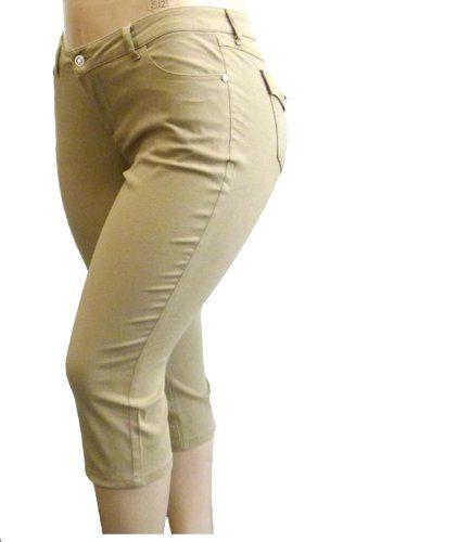piniful.com plus size khaki pants (08) #plussizefashion
