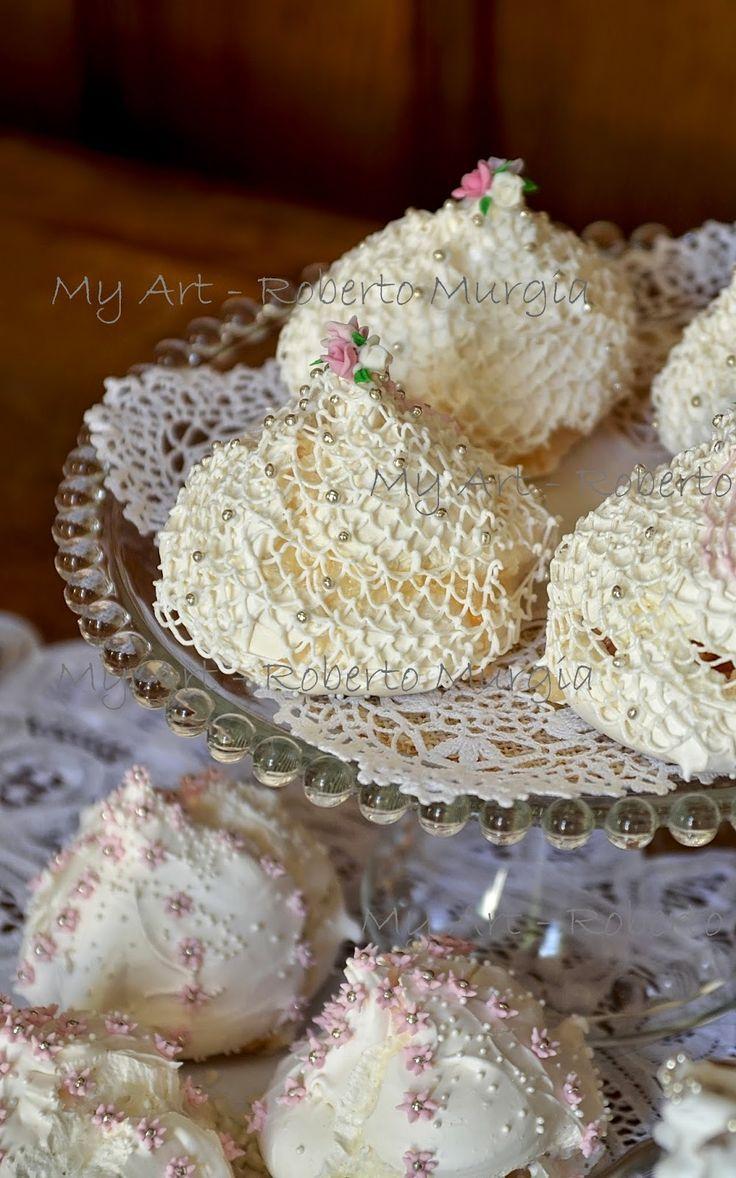 My Art - Roberto Murgia  dolci Sardi              bianchinos con pizzo
