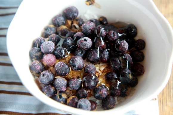 my all-time new favorite summer breakfast. so good. Muesli.: Favorite Summer, Summer Breakfast
