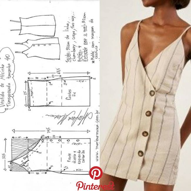 Pin by Irina on Выкройка   Pinterest   Sewing, Sewing patterns and Coutu…