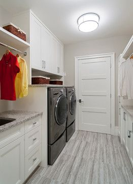 Partivo - transitional - Laundry Room - Vancouver - Old World Kitchens & Custom Cabinets