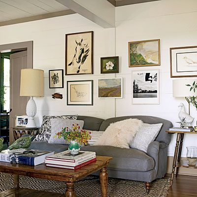 448 best Decor - Living Rooms images on Pinterest Cottage style - southern living living rooms