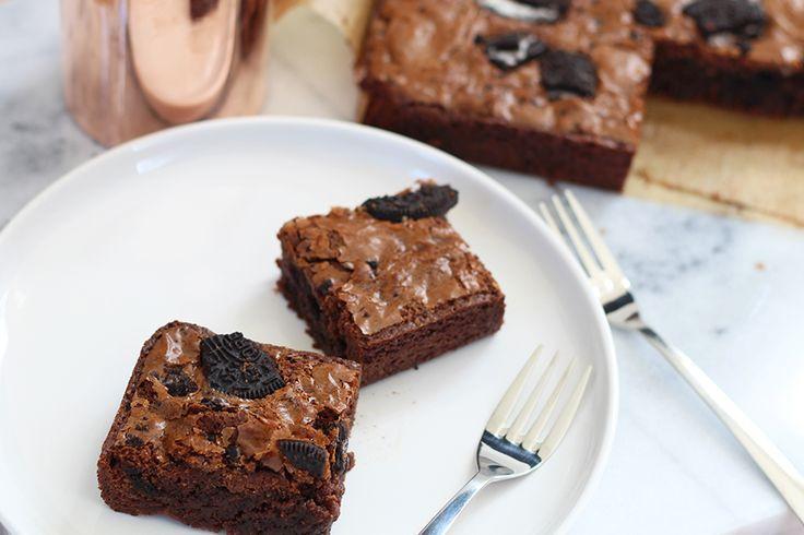 Culy Homemade: mindblowing Oreo brownies