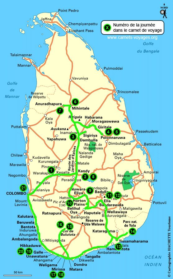 Super blog bien détaillé sur un voyage au Sri Lanka