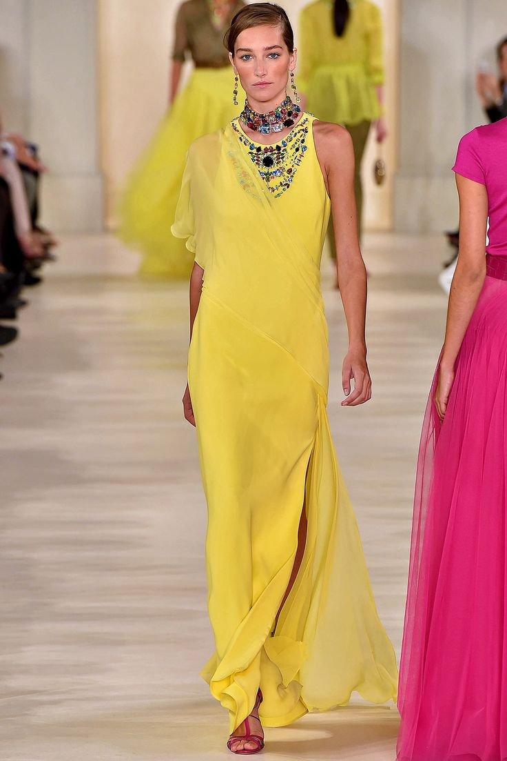 Ralph Lauren Spring 2015 Ready-to-Wear Collection Runway Show