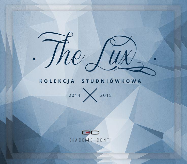 Kolekcja garniturów studniówkowych The Lux 2014/2015 marki Giacomo Conti #giacomoconti