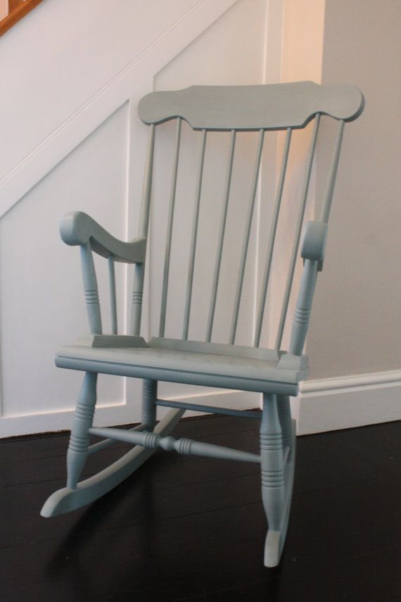 Solid Wood Rocking Chair Painted With Annie By InteriorsAvaRose, £55.00