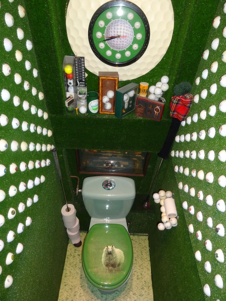 Surprise your golfer with his own golf theme room.: Avid ...