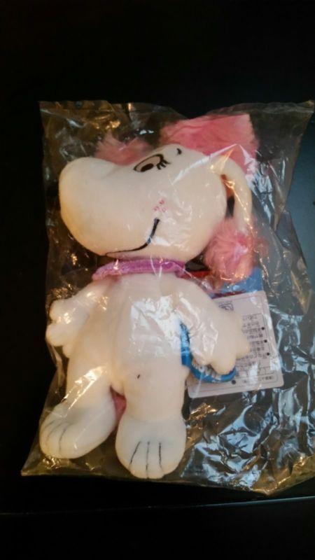 The Peanuts Movie Fifi Snoopy Girlfriend Plush Bean Doll Japan Limited NEW #bean #doll #japan #limited #plush #girlfriend #movie #fifi #snoopy #peanuts