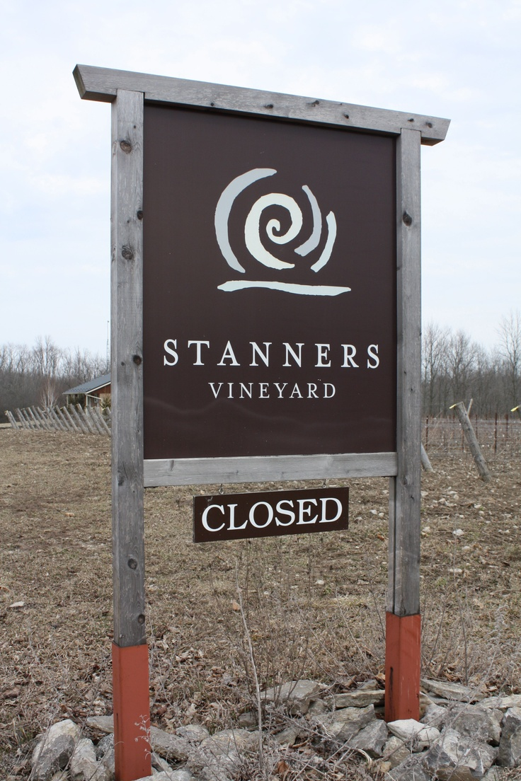 Prince Edward County winery - check them out.