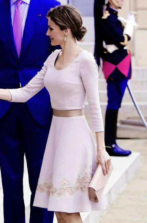 misshonoriaglossop:  Queen Letizia, July 22, 2014