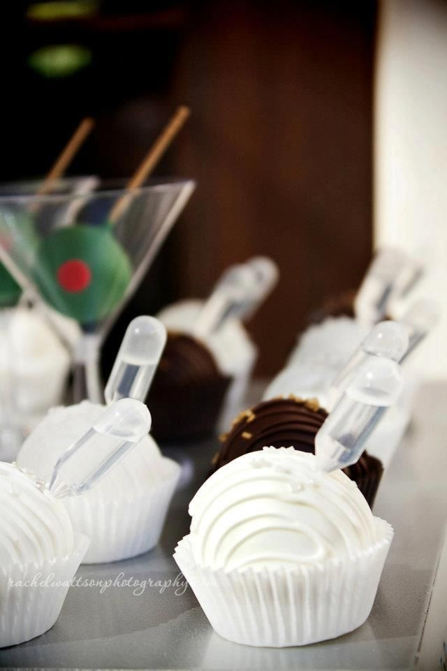 "Cake Ball ""Shots""-contains alcohol"