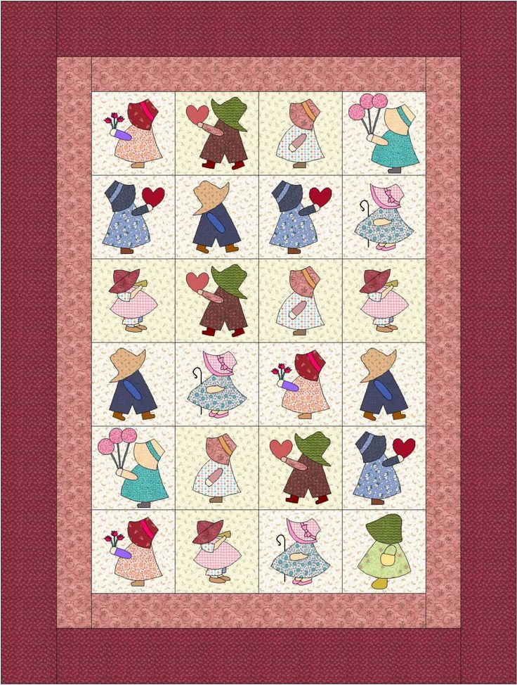https://www.etsy.com/listing/159872867/quilt-pattern-pdf-sunbonnet-sue-quilt?ref=shop_home_active_13                                                                                                                                                                                 More