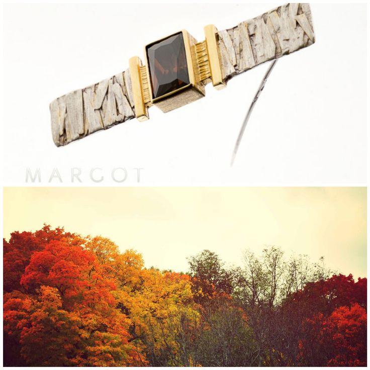 Stwórz wyjątkową stylizację razem z biżuterią Margot i zobacz, jak piękna jest jesień #artjewellery #original #margot #silver #gold #autumn2017 #swarovski #design #woman