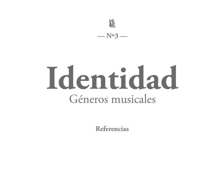 Referencias - Géneros musicales
