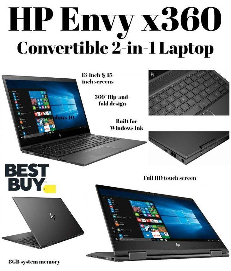 HP Envy x360 Convertible 2-in-1 Laptops at Best Buy | Best of Divine