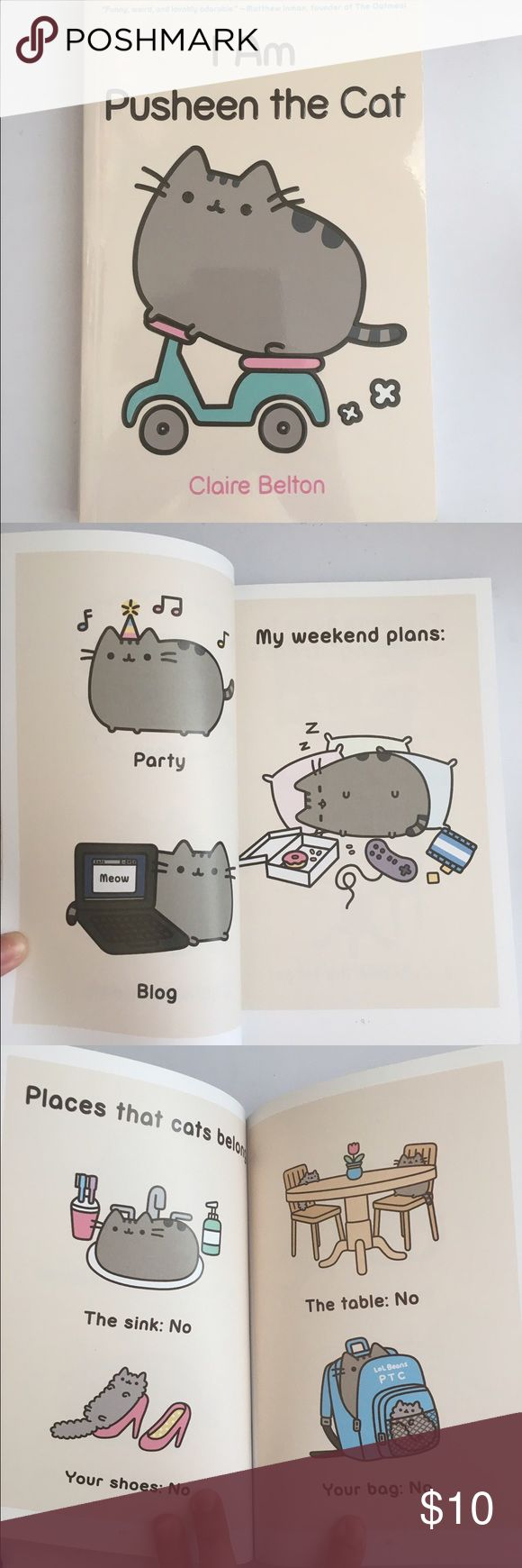 PUSHEEN BOOK BRAND NEW from urban outfitters Other