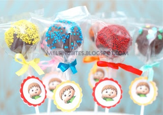 Melting Bites - Something Sweet By MeltingBites: Charlie & The Numbers Popcakes