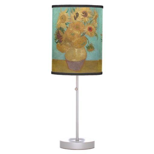 Vincent Van Gogh - Sunflowers Table Lamps