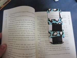 Duct tape bookmarks: We cut rectangular strips of cardstock in advance, slightly larger than our Ellison bookmark die. The kids covered the rectangles with fancy duct tape and then pressed out the Ellison bookmark. They loved to work the lever on the Ellison machine!