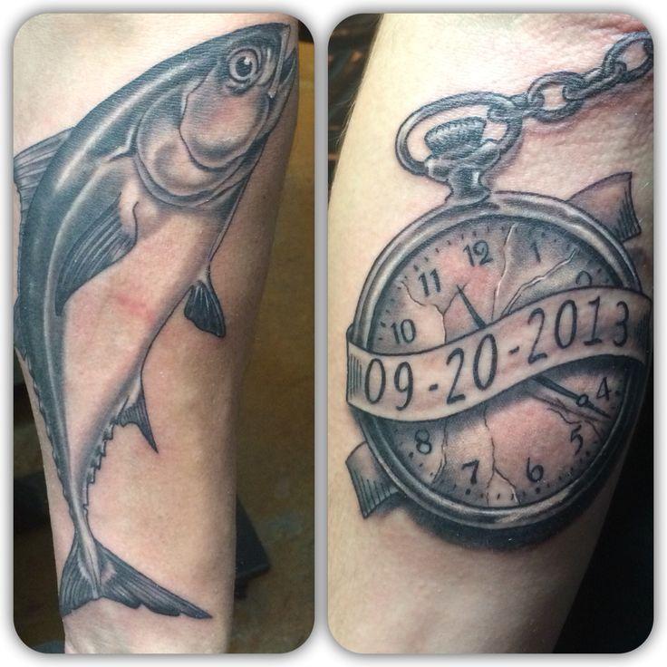 tuna tattoo and pocket watch tattoo pinterest pocket watch. Black Bedroom Furniture Sets. Home Design Ideas