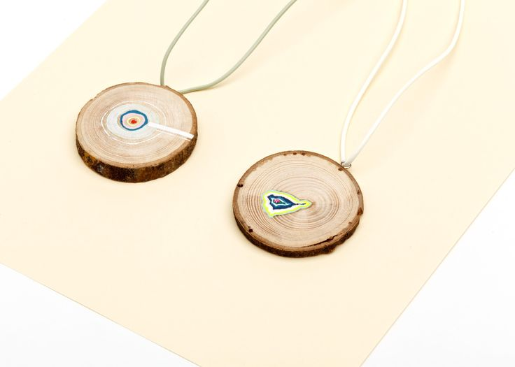 necklaces, wood, Julie Blaive