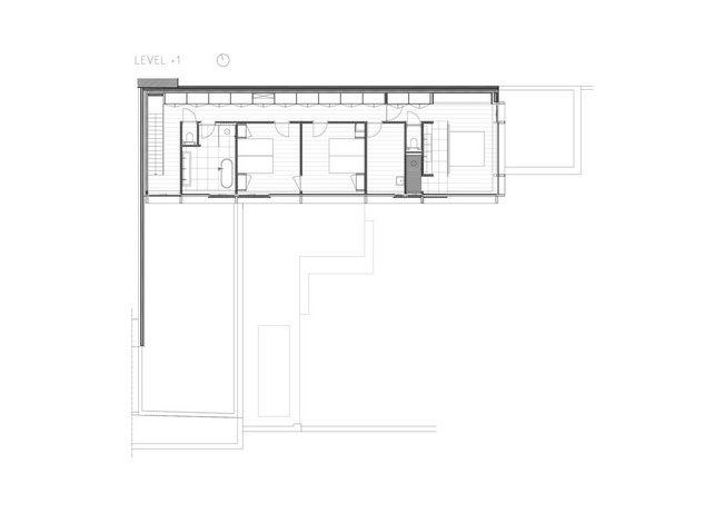 Ukryte miejsce, czyli Pied à terre w Gandawie #houseplan #houseplans