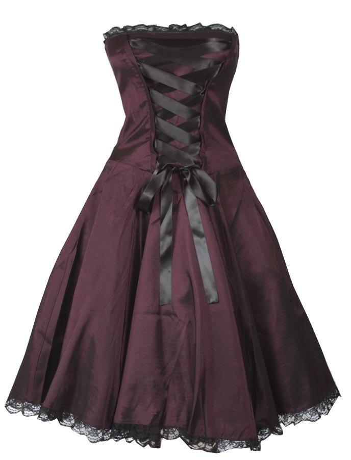 Corset look dress - Rockabilly Clothing - Shop for Rockabillies and Rockabellas