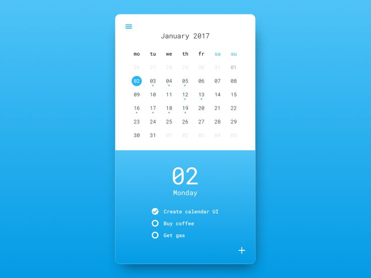 Calendar Typography Examples : Best ideas about calendar ui on pinterest dashboard