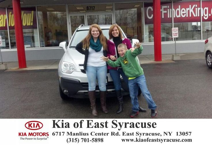 Great customer service provided by Mark and Sam. I bought a 2014 Chevy Captiva, I would highly recommend this place due to the friendly sales people. - Cheryl Hubbard, Saturday, November 01, 2014 http://www.kiaofeastsyracuse.com/?utm_source=Flickr&utm_medium=DMaxxPhoto&utm_campaign=DeliveryMaxx