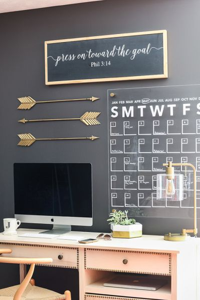 25 best ideas about small office decor on pinterest for Wall art ideas for office