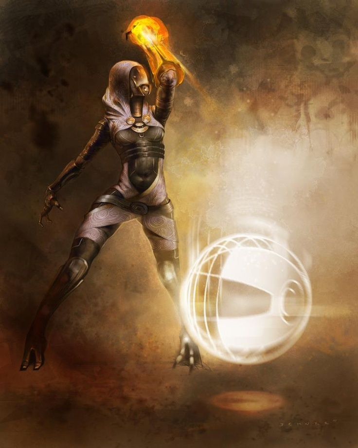 Tali- My all time favorite Mass Effect character ^^