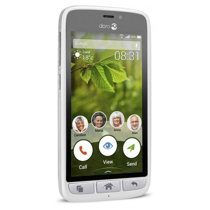 """Chytrý 4G telefon s unikátním """"Easy to Use"""" prostředím a unikátními aplikacemi pro vzdálenou pomoc."""
