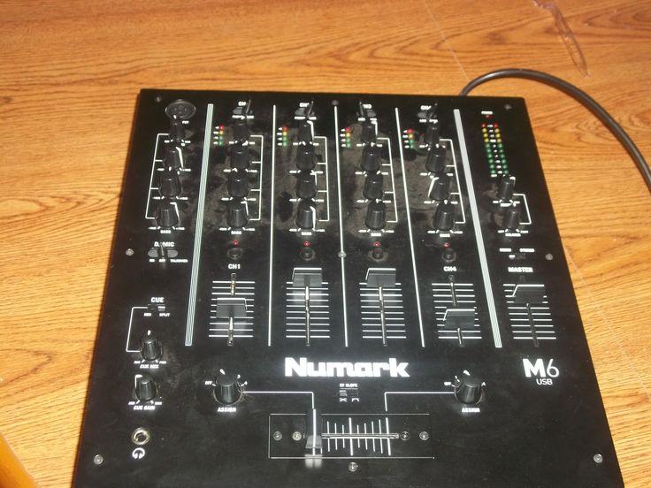 My DJ Audio Mixer ( Numark M6 )
