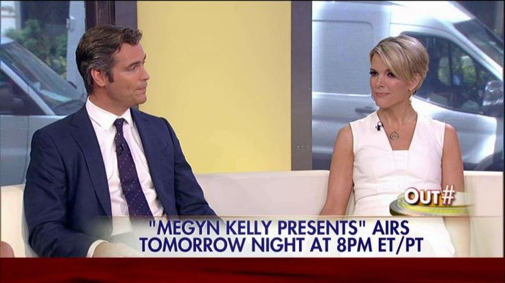 """Megyn Kelly and her husband, Doug Brunt, stopped by """"Outnumbered"""" ahead of her much-anticipated interview with Donald Trump, which will air tomorrow night on the FOX Broadcast Network special, """"Megyn Kelly Presents.""""... MAY 16 2016"""